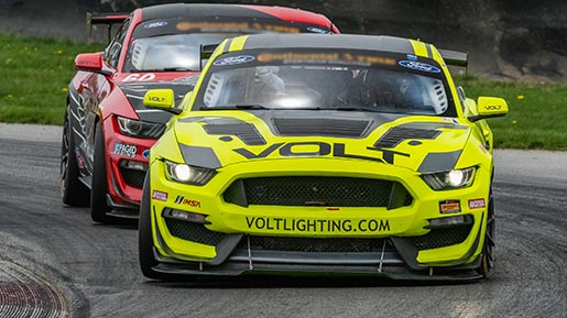 Michelin Pilot Challenge races through the Mid-Ohio Sports Car Course