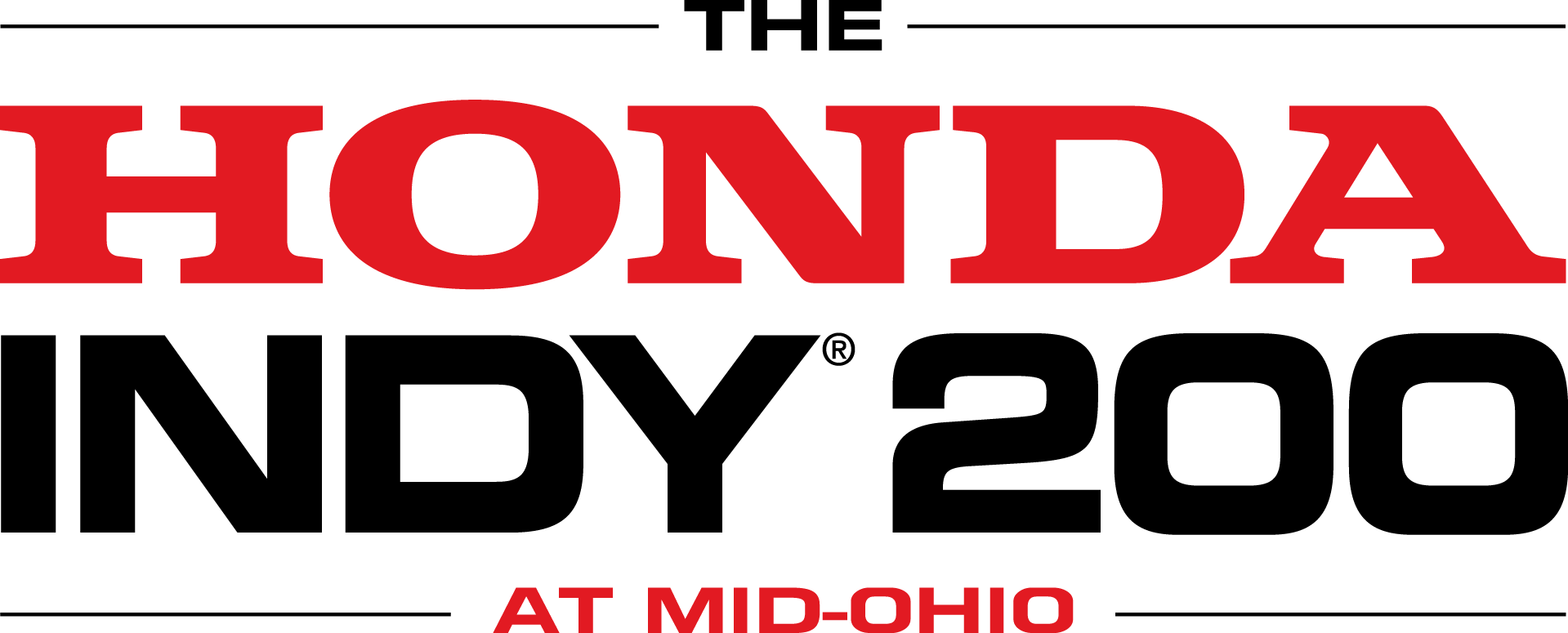 The Honda Indy 200 At Mid-Ohio Logo