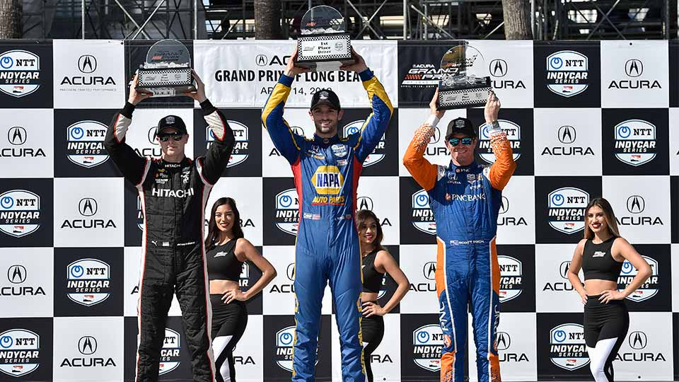 Acura Grand Prix of Long Beach Podium