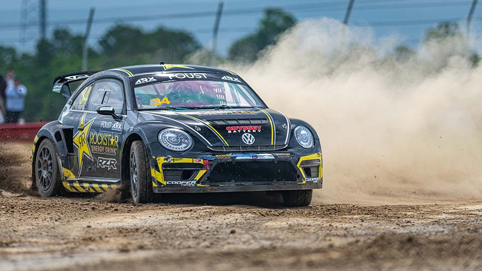 Tanner Foust on track at Mid-Ohio