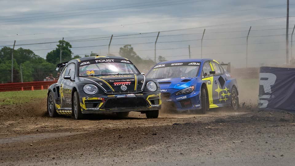 Americas Rallycross Championships are on the Line At Cooper Tires ARX of Mid-Ohio