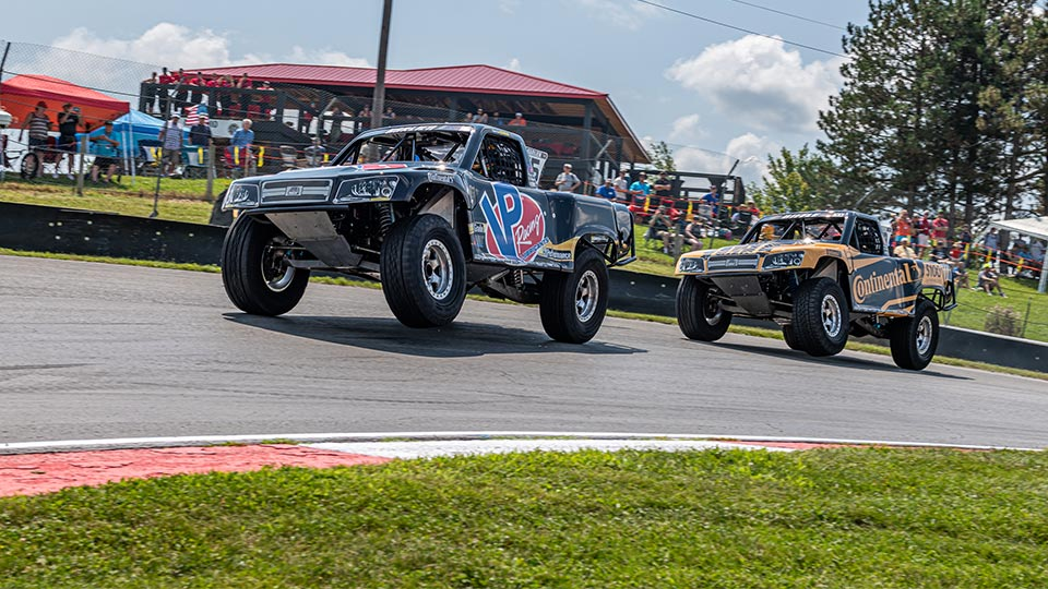 Stadium Super Trucks on track at Mid-Ohio Sports Car Course