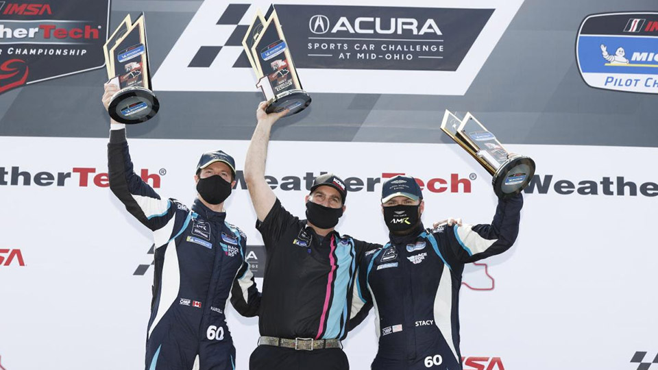 KohR Motorsports Sweep Makes Aston Martin First Multiple Winner in Pilot Challenge Season