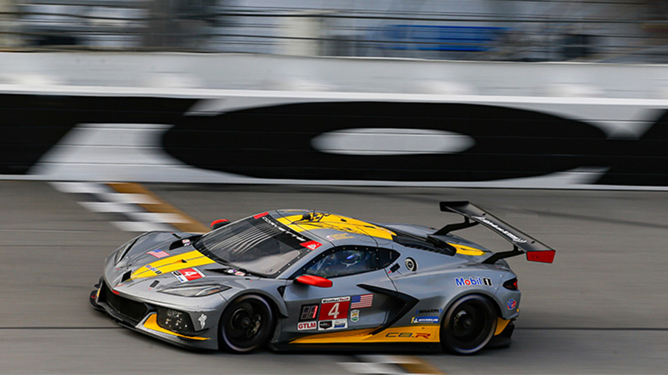 Sims, Tandy Earn the GTLM Pole for the Rolex 24 at Daytona