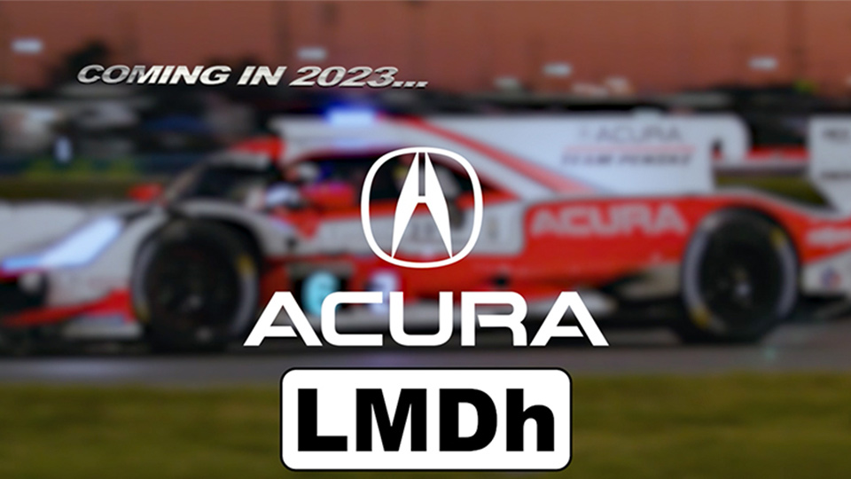 Acura Announces LMDh Plan for WeatherTech Championship in 2023