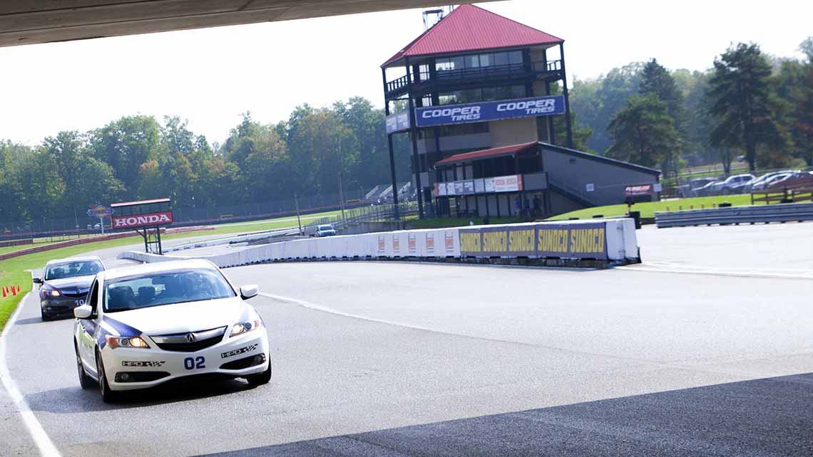 Acura High Performance Course at the Mid-Ohio School