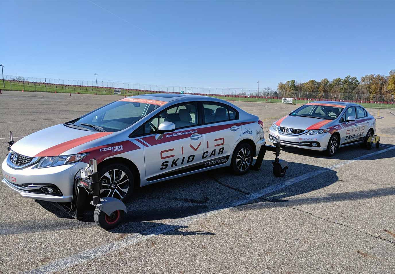 2013 Honda Civic EX-L Skid Car